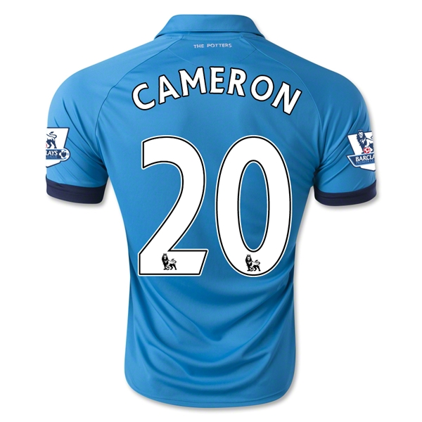 Stoke City 14/15 CAMERON Away Soccer Jersey