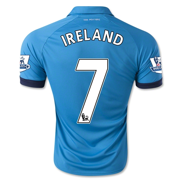 Stoke City 14/15 IRELAND Away Soccer Jersey