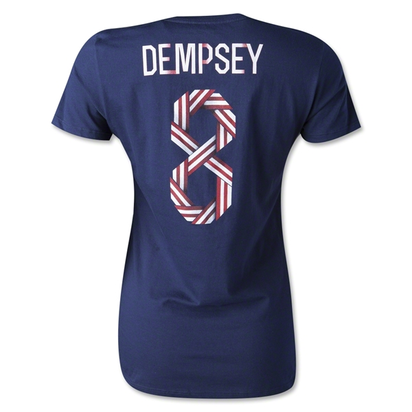 USA Dempsey Women's T-Shirt (Navy)