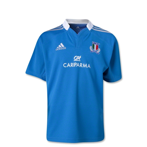 Italy 12/13 Youth Home SS Rugby Jersey