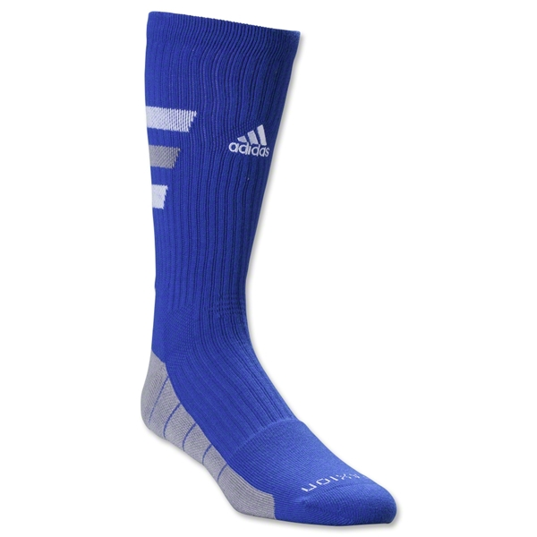 adidas Team Speed Traxion Crew Sock (Royal)