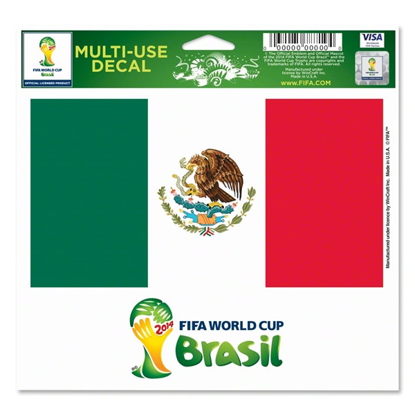 Mexico FIFA World Cup 2014(TM) 5 x 6 Decal