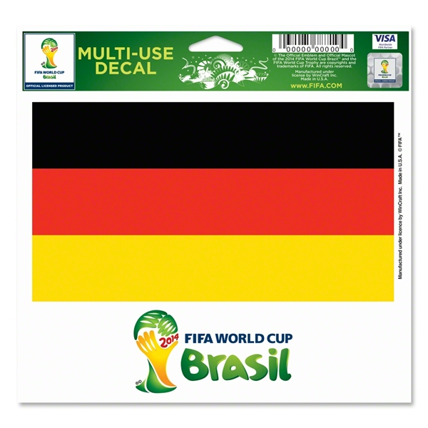 Germany FIFA World Cup 2014(TM) 5 x 6 Decal