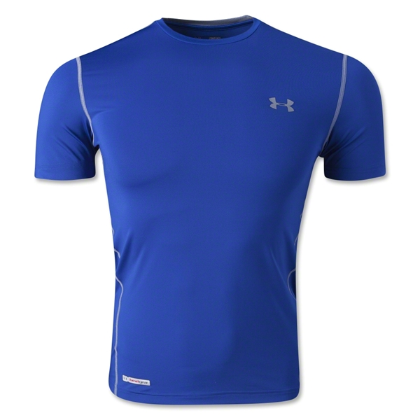 Under Armour HeatGear Sonic Fitted T-Shirt (Royal)