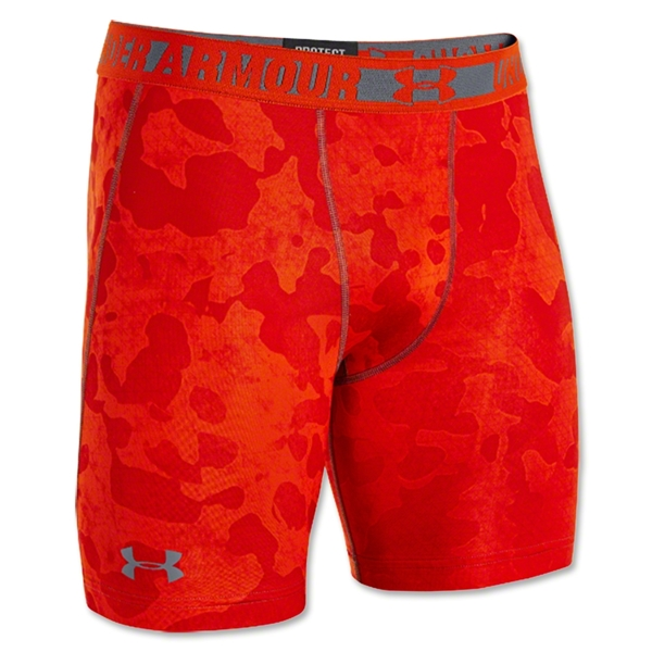 Under Armour HeatGear Sonic Compression Short (Red)
