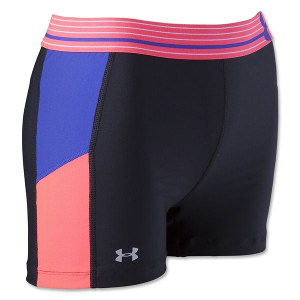 Under Armour HeatGear Alpha Print 3 Shorty (Bk/Fl Pi)