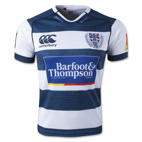Auckland 2014 Home Rugby Jersey