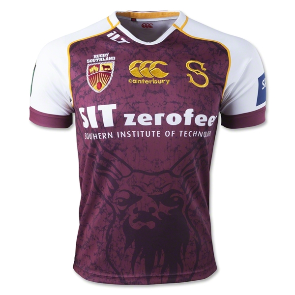 Southland 2014 Home Rugby Jersey