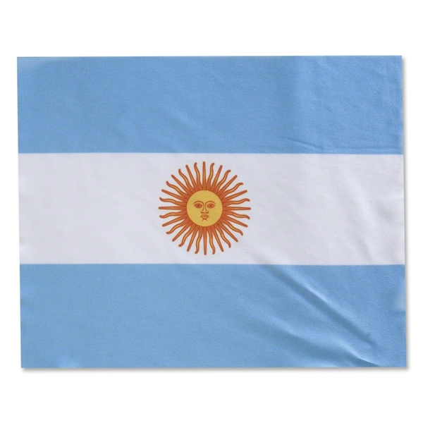 Argentina Flag Rally Sport Towel