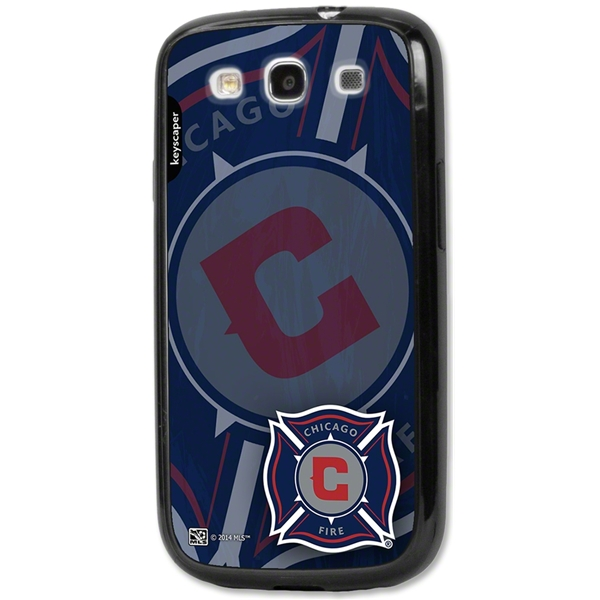 Chicago Fire Galaxy S3 Bumper Case (Corner Logo)