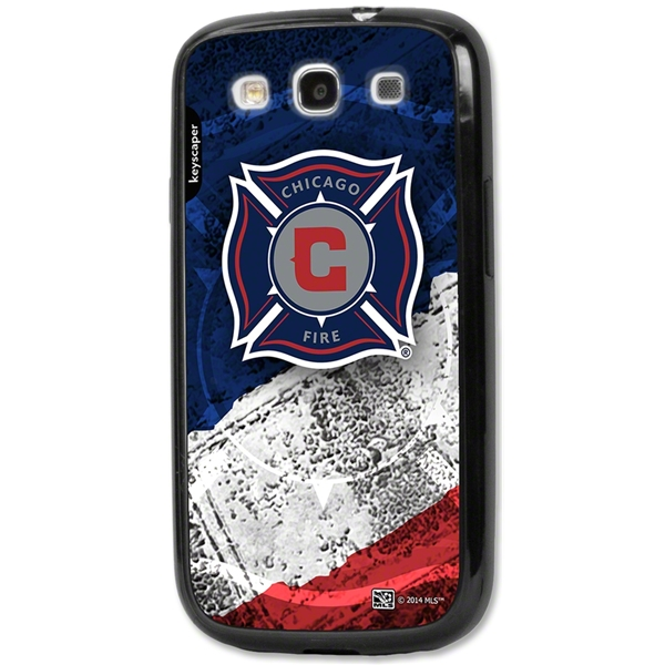Chicago Fire Galaxy S3 Bumper Case (Center Logo)