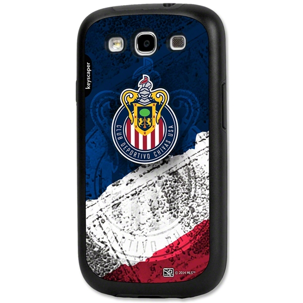 Chivas USA Galaxy S3 Rugged Case (Center Logo)
