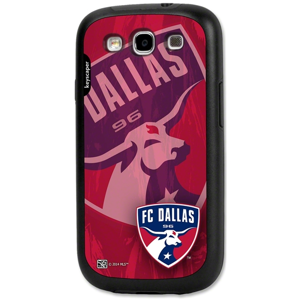 FC Dallas Galaxy S3 Rugged Case (Corner Logo)