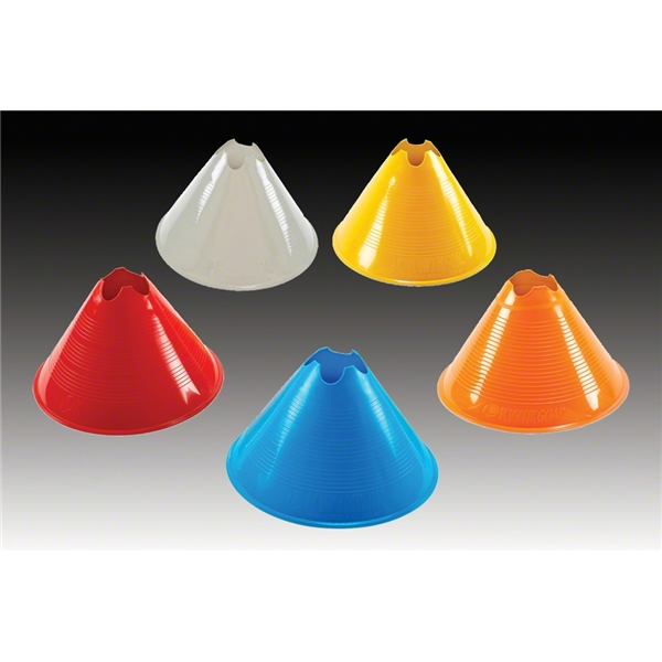 Large Disc Cone 12 Pack (Orange)