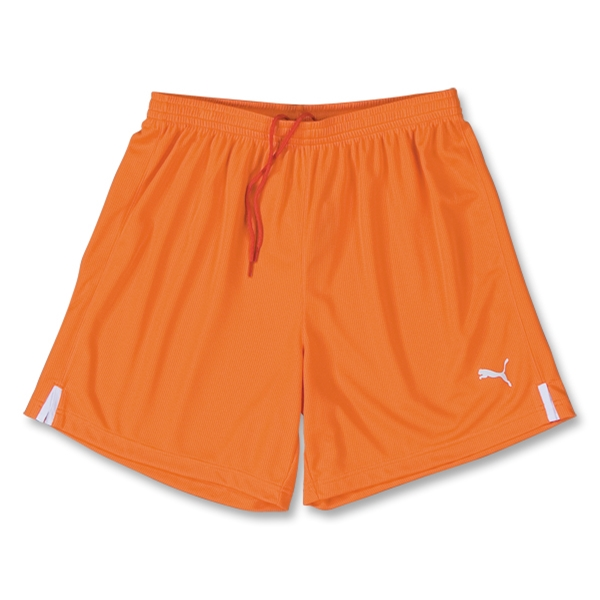 PUMA Lyon Soccer Shorts (Orange)