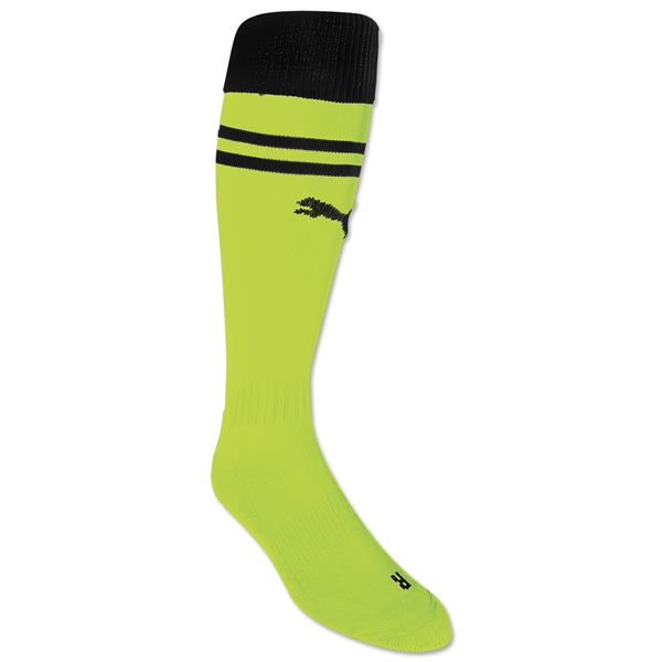PUMA King Socks (Lime/Black)