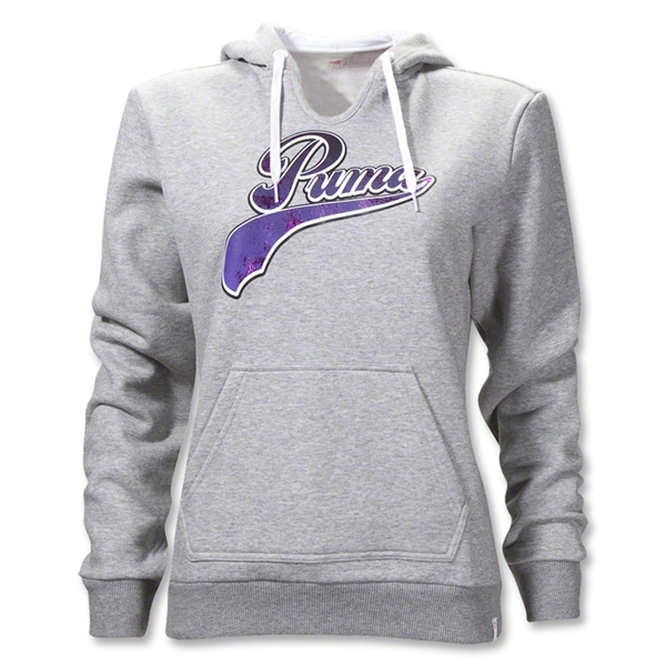 PUMA Women's Lifestyle Graphic Sweatshirt (Gray)