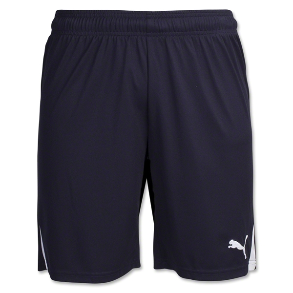 PUMA Team Soccer Shorts (Navy/White)