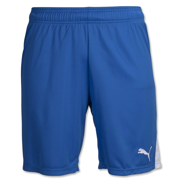 PUMA Team Soccer Shorts (Roy/Wht)