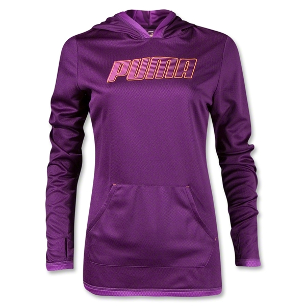PUMA Women's Hoody Cover-up (Purple)