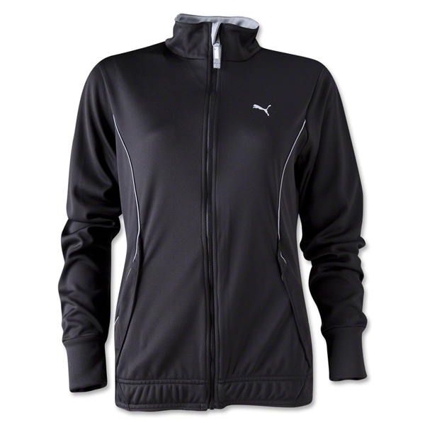 PUMA Women's Huddle Jacket (Blk/Grey)