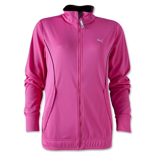 PUMA Women's Huddle Jacket (Pi/Bk)