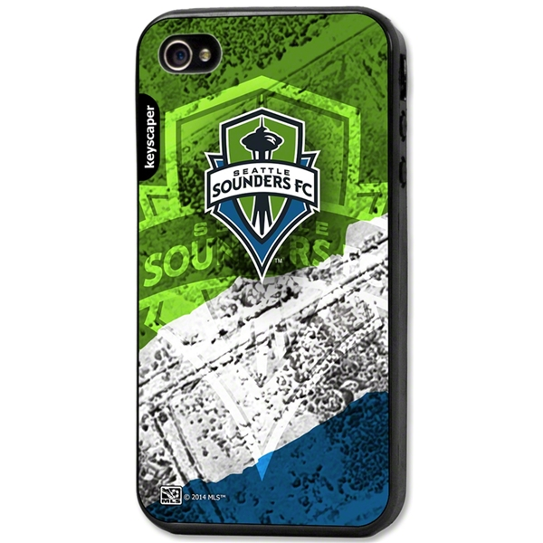 Seattle Sounders iPhone 4/4s Bumper Case (Center Logo)