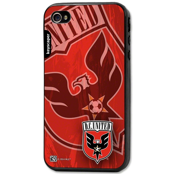 DC United iPhone 4/4s Bumper Case (Center Logo)