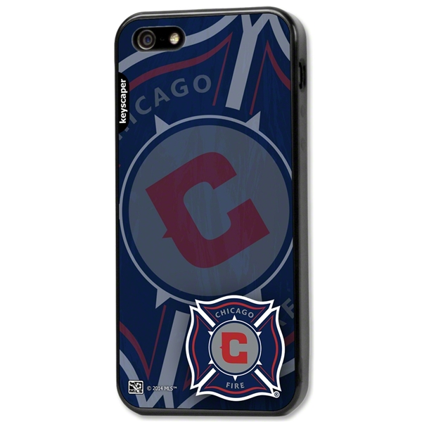 Chicago Fire iPhone 5/5s Bumper Case (Center Logo)