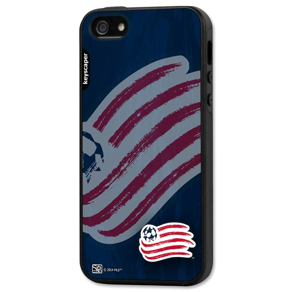 New England Revolution iPhone 5/5S Rugged Case (Corner Logo)
