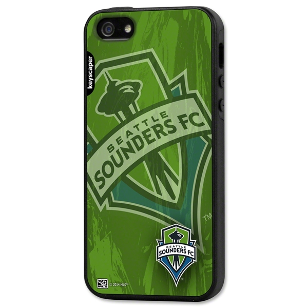 Seattle Sounders iPhone 5/5S Rugged Case (Center Logo)
