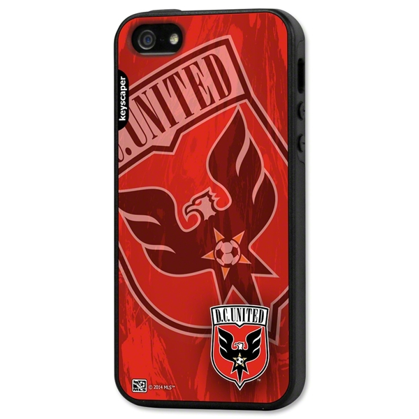 DC United iPhone 5/5S Rugged Case (Corner Logo)