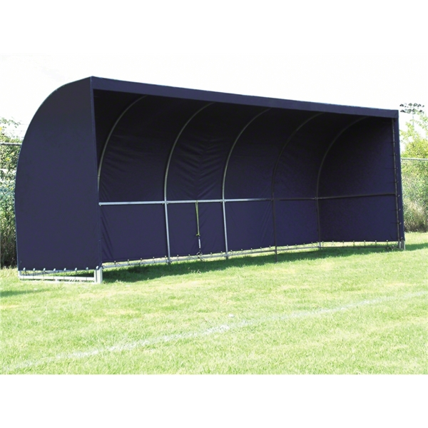The Soccer Wall Team Shelter (Navy)