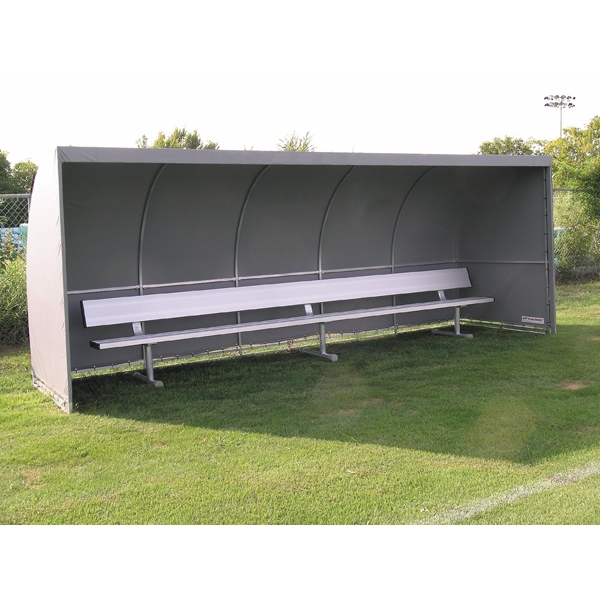 The Soccer Wall Team Shelter (Gray)