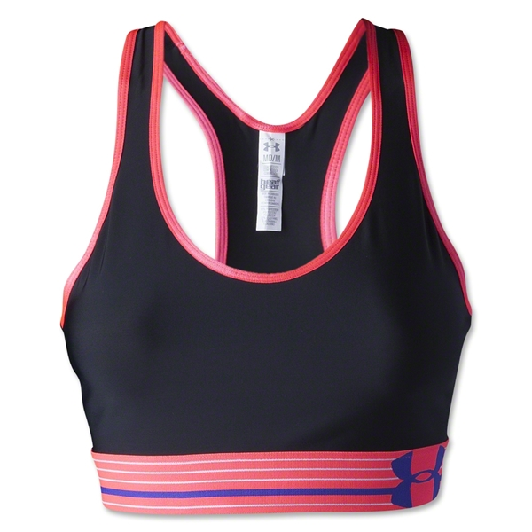 Under Armour Heatgear Alpha Bra (Bk/Fl Pi)