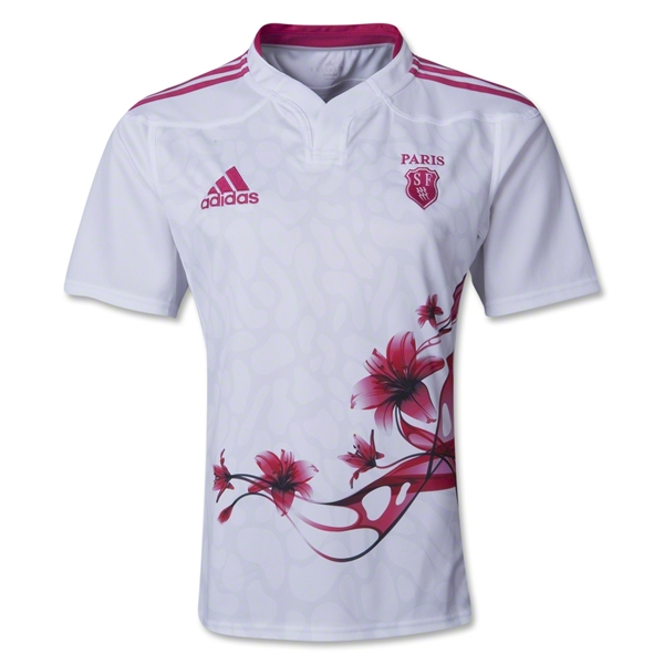 Stade Francais 13/14 Home SS Rugby Jersey