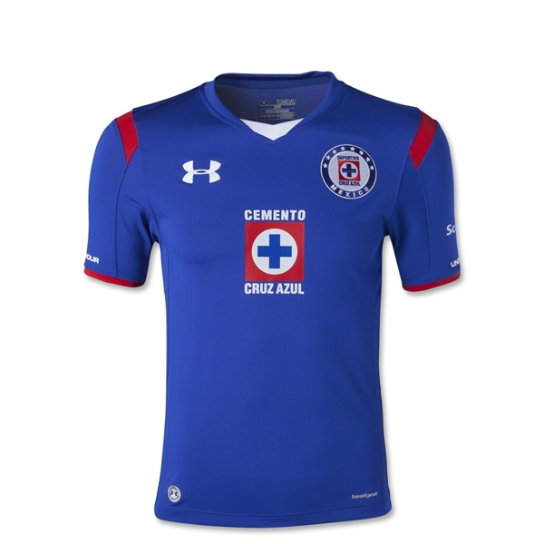 Cruz Azul 14/15 Youth Home Soccer Jersey