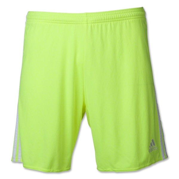 adidas Women's Regista 14 Short (Neon Yellow)