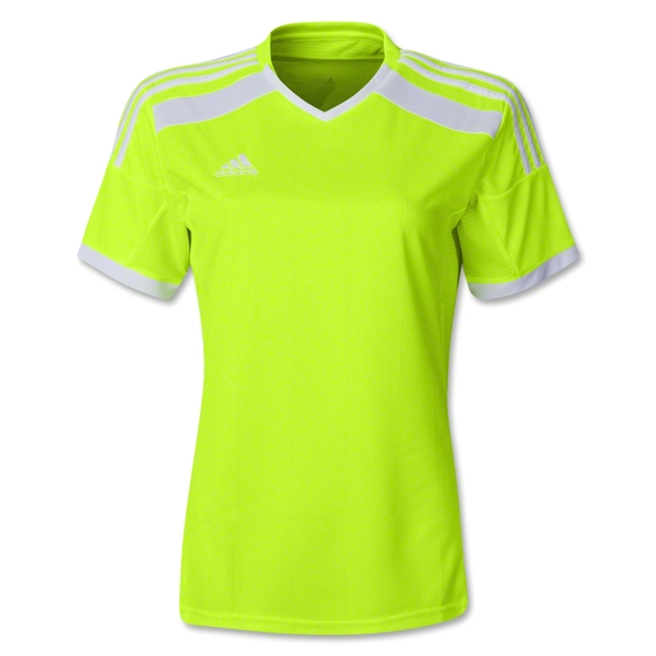 adidas Women's Regista 14 Jersey (Neon Yellow)