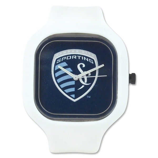 Sporting KC White Watch