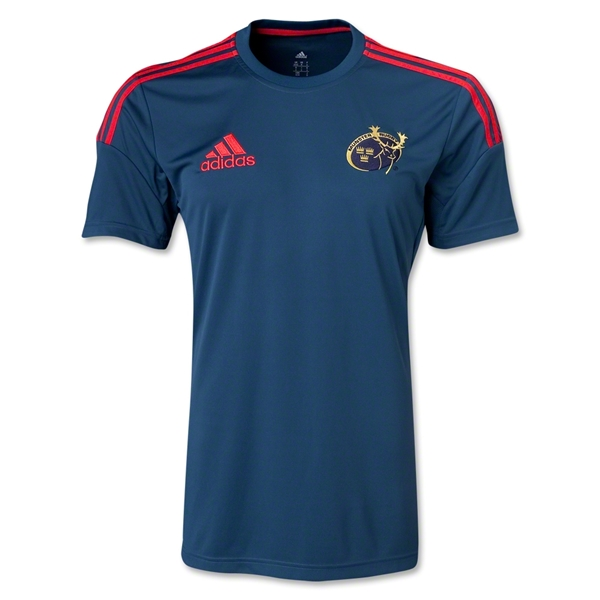 Munster Performance Supporter T-Shirt (Gray)