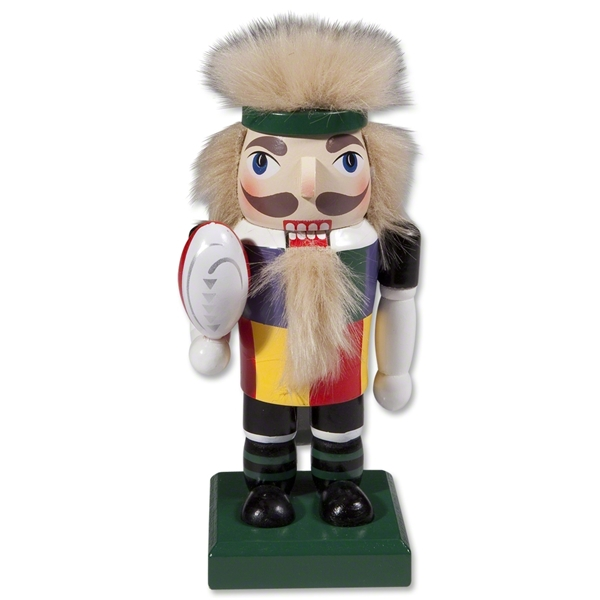 Rugby Nutcracker Figurine- Limited Edition