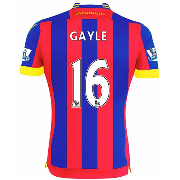 Crystal Palace 14/15 GAYLE Home Soccer Jersey
