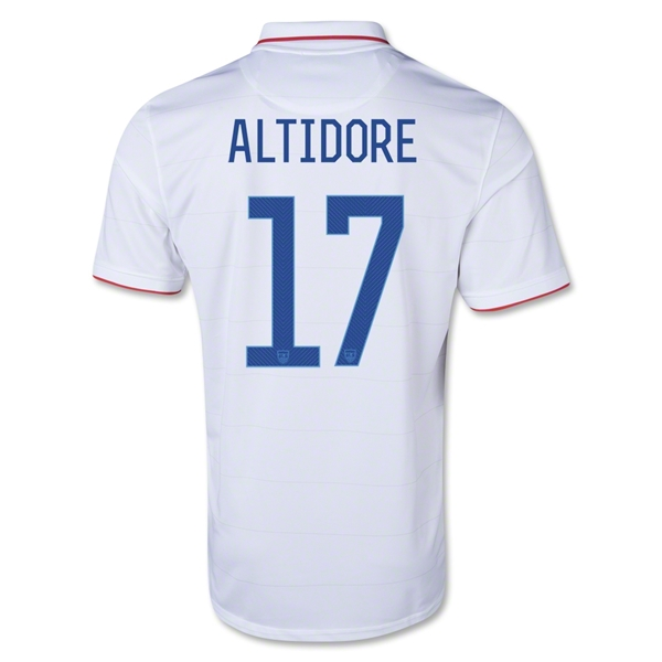USA 14/15 ALTIDORE Home Soccer Jersey