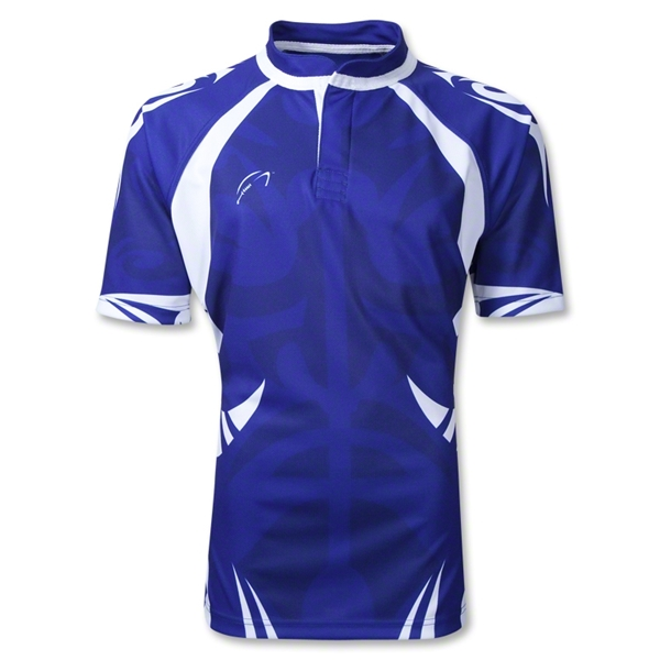 WRS Tribal SS Rugby Jersey (Royal)