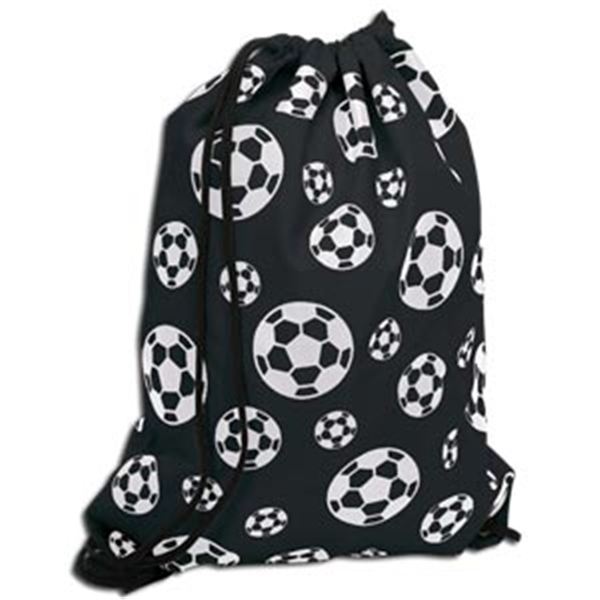 Soccer Ball Sack Pack (Black)