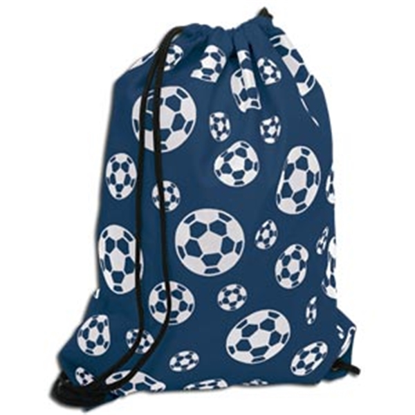 Soccer Ball Sack Pack (Navy)