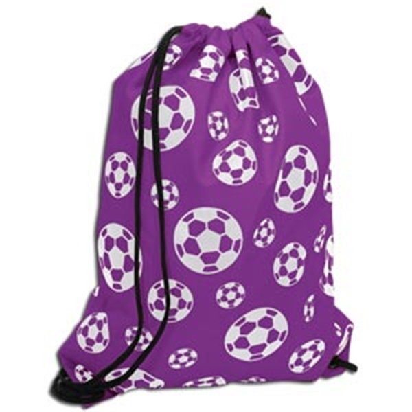 Soccer Ball Sack Pack (Purple)