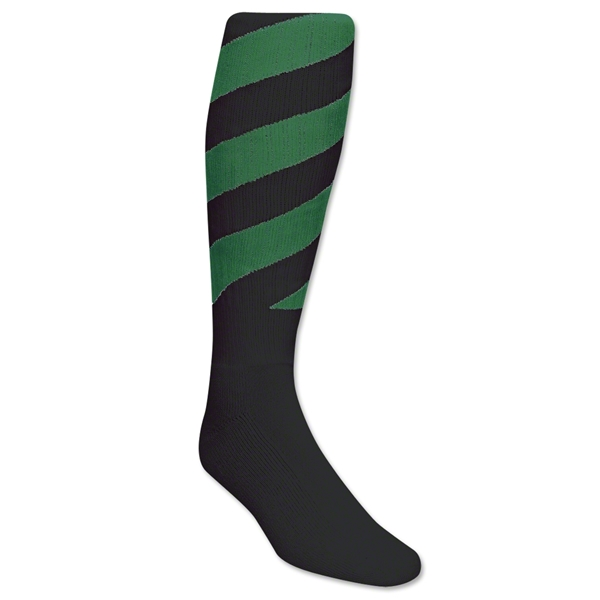 Red Lion Black Tornado Socks (Green)