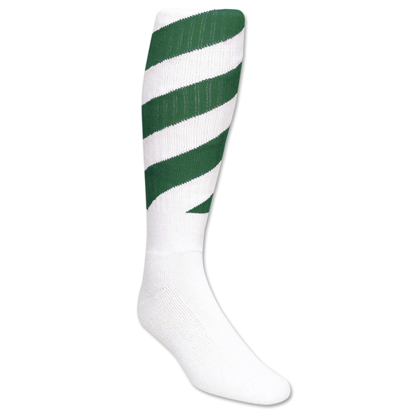 Red Lion Tornado Socks (White/Green )